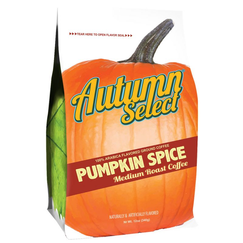Pumpkin Spice flavored coffee - Autumn Select