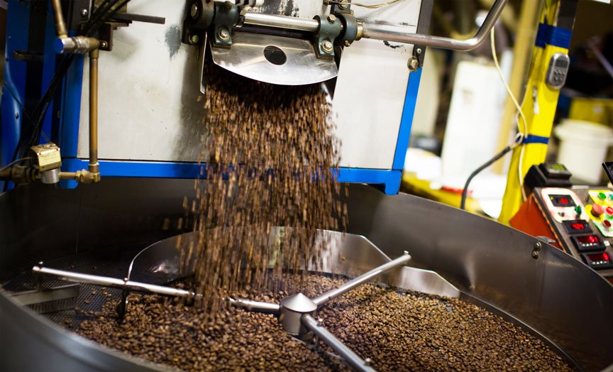Roasted Coffee From Diedrich Roaster
