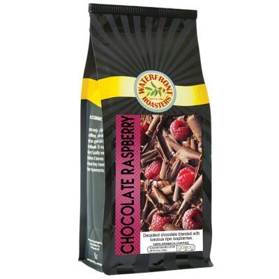 Waterfront Roasters Chocolate Raspberry Flavored Coffee