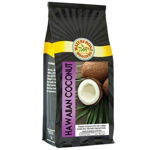 Waterfront Roasters Hawaiian Coconut Flavored Coffee