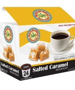 Waterfront Roasters Salted Caramel Flavored Coffee Cups