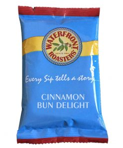 Waterfront Roasters Cinnamon Bun Delight Portion Packs