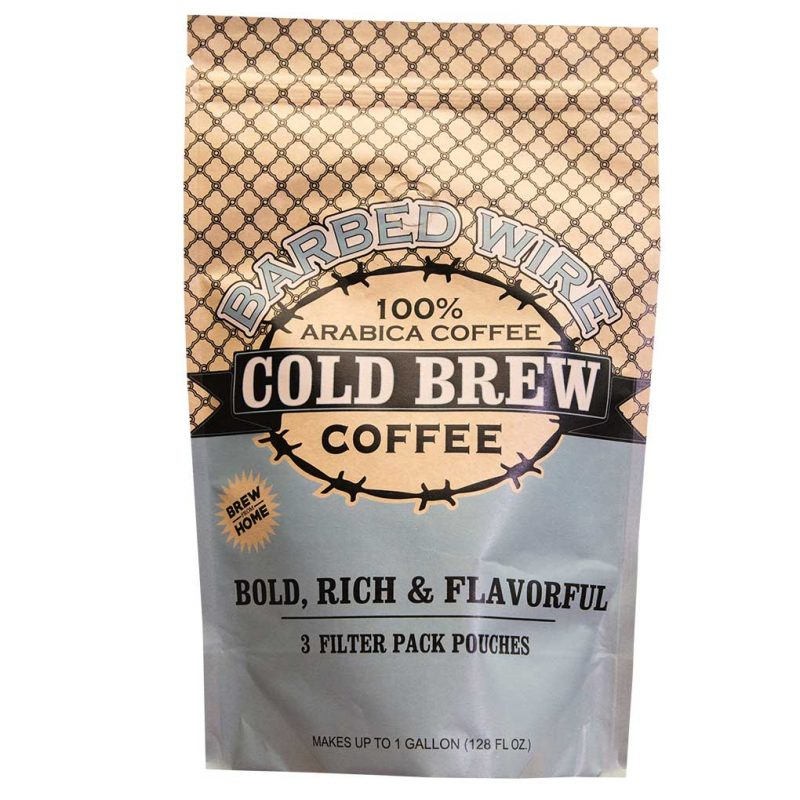 Barbed Wire Cold Brew Pouches