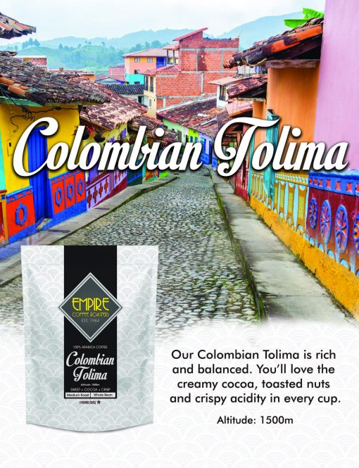 Empire Coffee 2lb Colombian Tolima